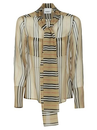 Burberry House Check Blouse
