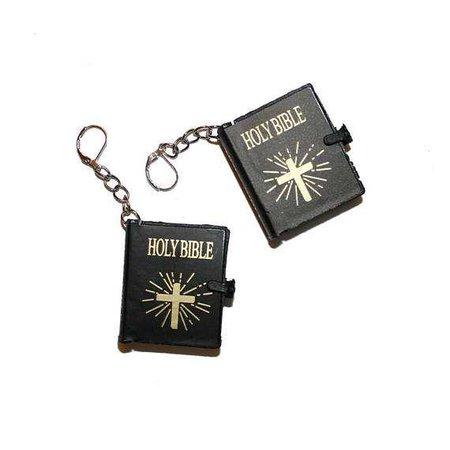 Holy Bible Earrings miniature holy bible earrings jewelry