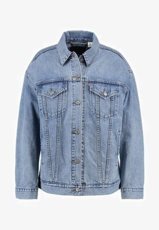 Levi's® BAGGY TRUCKER - Denim jacket - true life - Zalando.co.uk