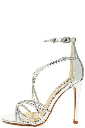 silver sandals heels - Pesquisa Google