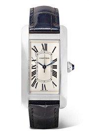Cartier | Ballon Bleu de Cartier 33mm 18-karat pink gold and alligator watch | NET-A-PORTER.COM