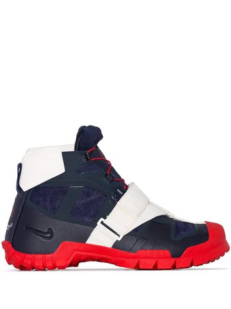 Red Nike X Undercover SFB Mountain High-top Sneakers | Farfetch.com