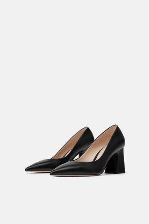 BLOCK HEEL HIGH HEELS - High heels-SHOES-WOMAN | ZARA United States