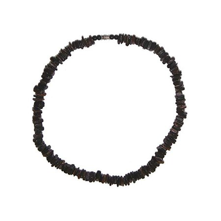 Amazon.com: Awesome 18 inch Surfin Black Puka Shell Necklace: Jewelry