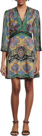 Rayan Paisley Print Dress