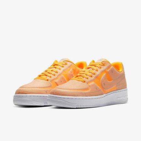 Nike Air Force 1 07 LX Blueprint Laser Orange AF1 Womens Casual Shoes CI3445-800 | Kixify Marketplace