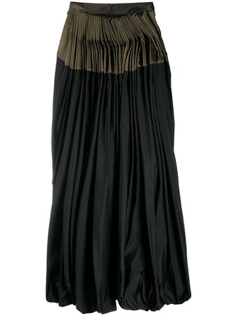 Gianfranco Ferré Pre-Owned front-pleated Midi Skirt - Farfetch