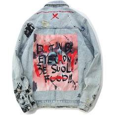 graphic jean jacket - Google Search