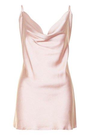 pink slip dress