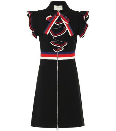 Sylvie Web Stretch-Jersey Dress | Gucci - mytheresa.com