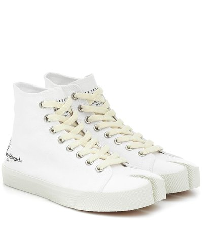 Tabi Canvas Sneakers | Maison Margiela - Mytheresa