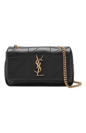 Женская сумка jamie small SAINT LAURENT черная цвета — купить за 119000 руб. в интернет-магазине ЦУМ, арт. 515820/C0P67