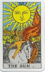 Leo tarot card