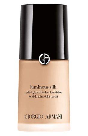 Giorgio Armani Luminous Silk Foundation   Nordstrom