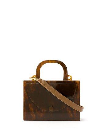 Shop brown ESTILÉ mini Classique bag with Express Delivery - Farfetch