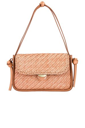 Loeffler Randall Maggie Shoulder Bag in Blush | REVOLVE