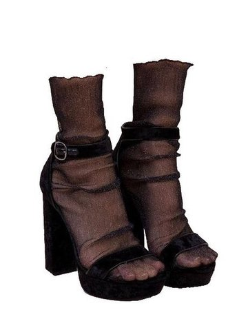 png shoes aesthetic socks and heels