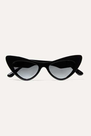 Black Cat-eye acetate sunglasses | Dolce & Gabbana | NET-A-PORTER