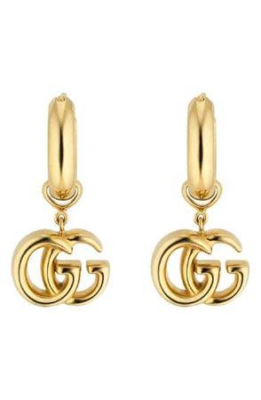 Gucci GG Running Drop Earrings   Nordstrom