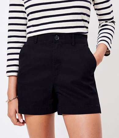 The Petite Washed Twill Short