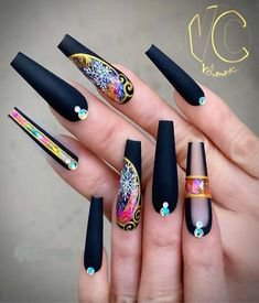 Pinterest - 101 Want to see new nail art? These nail designs are really great Page 19. acrylic nails designs; acrylic nail ideas; acrylic nails cof | Nails