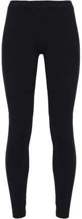 Cropped Stretch-pima Cotton Jersey Leggings