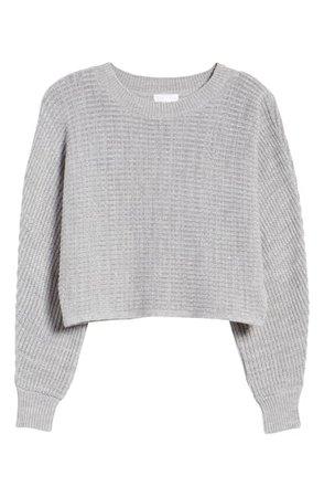 Leith | Dolman Sleeve Crop Crewneck Sweater | Nordstrom Rack