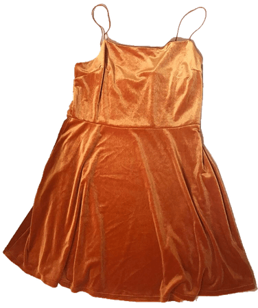 orange dress png