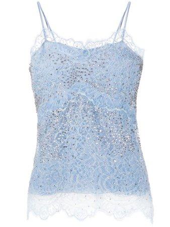 Ermanno Scervino Floral Lace Camisole Top - Farfetch