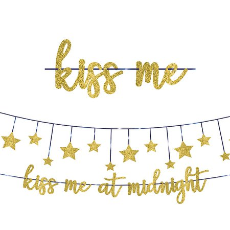 Midnight New Year's Eve Banner Kit 2pc | Party City Canada