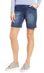 Gracie Stretch Denim Shorts