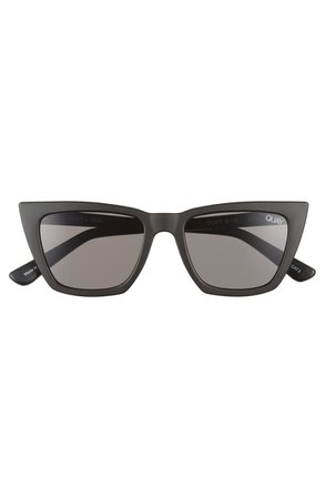 Quay Australia Don't @ Me 48mm Cat Eye Sunglasses | Nordstrom