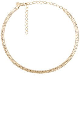 Child of Wild Sicily Herringbone Necklace in Gold | REVOLVE