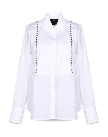 Valentino Solid Color Shirts & Blouses - Women Valentino Solid Color Shirts & Blouses online on YOOX United States - 38780659ID