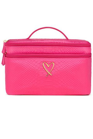 Victoria's Secret train case makeup bag
