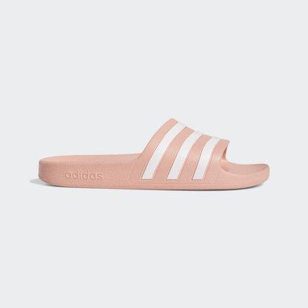 adidas Adilette Aqua Slides - Pink | adidas US