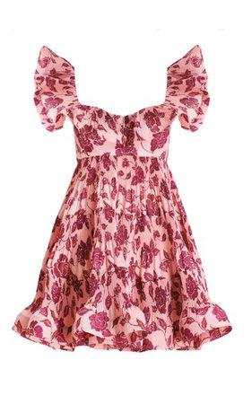 The Lovestruck Tiered Poplin Mini Dress By Zimmermann | Moda Operandi