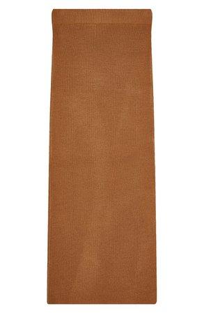 Topshop Knit Midi Skirt | Nordstrom