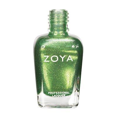Shiny Green Nail Polish