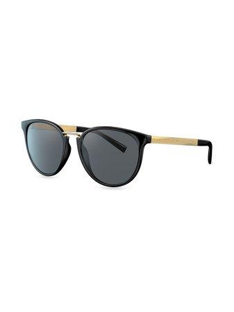 Versace Eyewear Round Frame Sunglasses - Farfetch