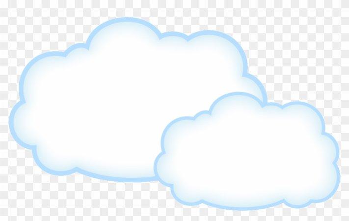 Cloud Clipart Transparent Background - Cartoon Cloud Transparent Background - Free Transparent PNG Clipart Images Download