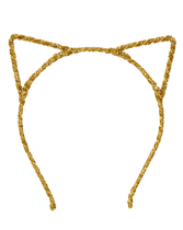Gold rope cat ears