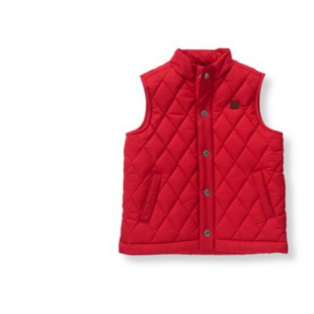 Janie and jack red vest