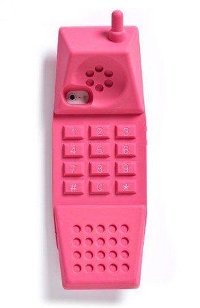 Moschino barbie phone case pink