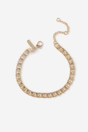**Spiral Chain Link Bracelet | Topshop