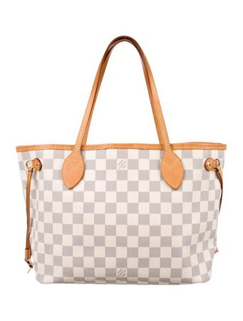Louis Vuitton Damier Azur Neverfull PM - Handbags - LOU174115 | The RealReal