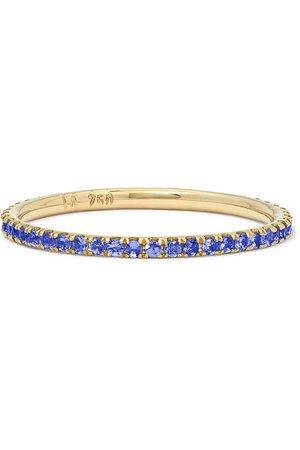 Ileana Makri | Thread 18-karat gold sapphire ring | NET-A-PORTER.COM