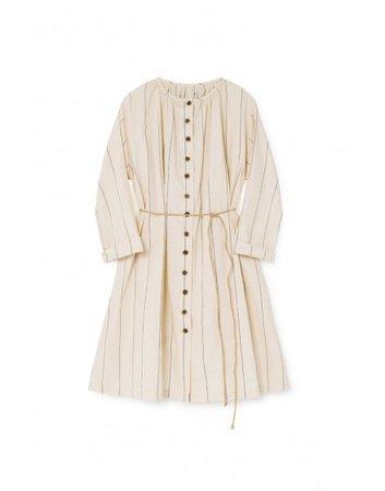 Thin-Stripe Sack Dress - Dresses | Little Creative Factory