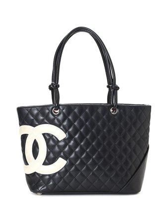 Chanel Pre-Owned Cambon Line Totebag - Farfetch