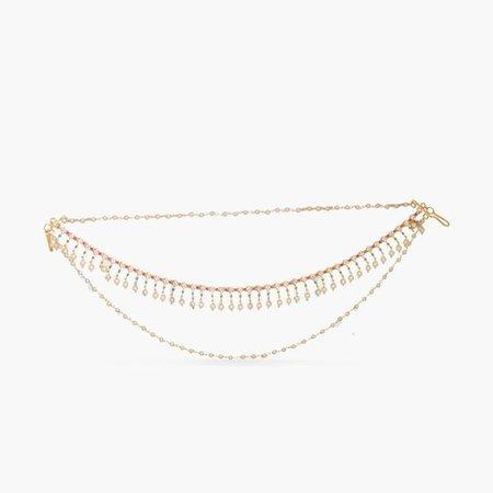 Ekambar Hair Chain